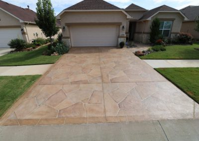 Luxury Driveway By LimeCoat DFW