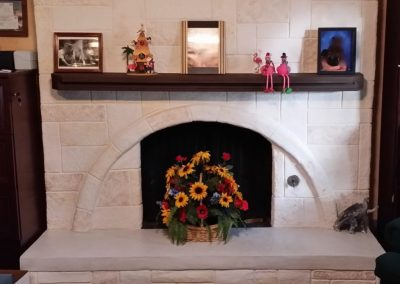 Beautiful Interior Fireplace by LimeCoat DFW