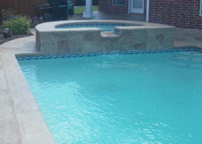 LimeCoat DFW Pool Deck