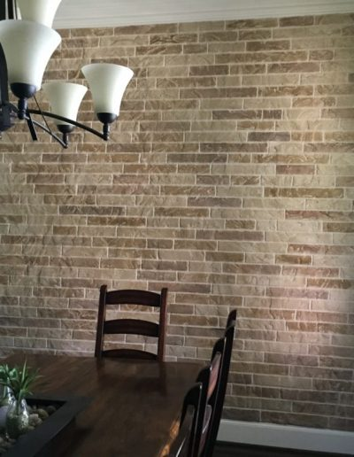 Dining Room Wall completed by LimeCoat DFW