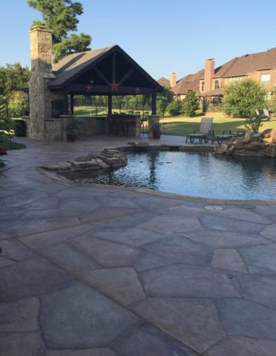 Stunning Pool Deck completed by LimeCoat DFW