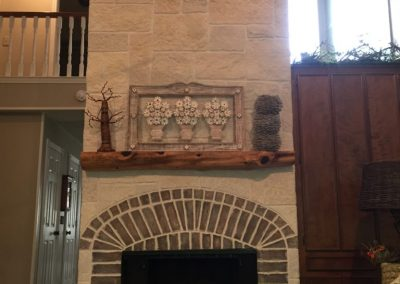 LimeCoat DFW Tall Fireplace