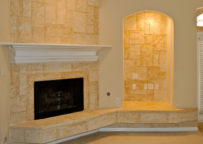 LimeCoat DFW Fireplace and Wall